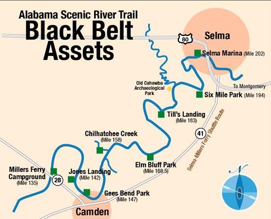 Alabama River—Upper, William F. Dannelly Lake | Rivers | ASRT